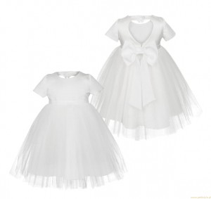 FAVIA White Baptism dress 62-86