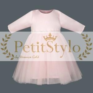 7554074403 CLOTILDE Sukienka na chrzest 62-86