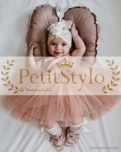 78991d97c9 CONSTI Sukienka na chrzest 62-86 Producent odzieży dziecięcej i dla mam