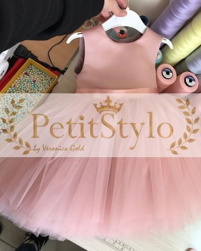 41049995a7 Sukienka dla dziewczynki CONSTANCE Producent odzieży dziecięcej i ...